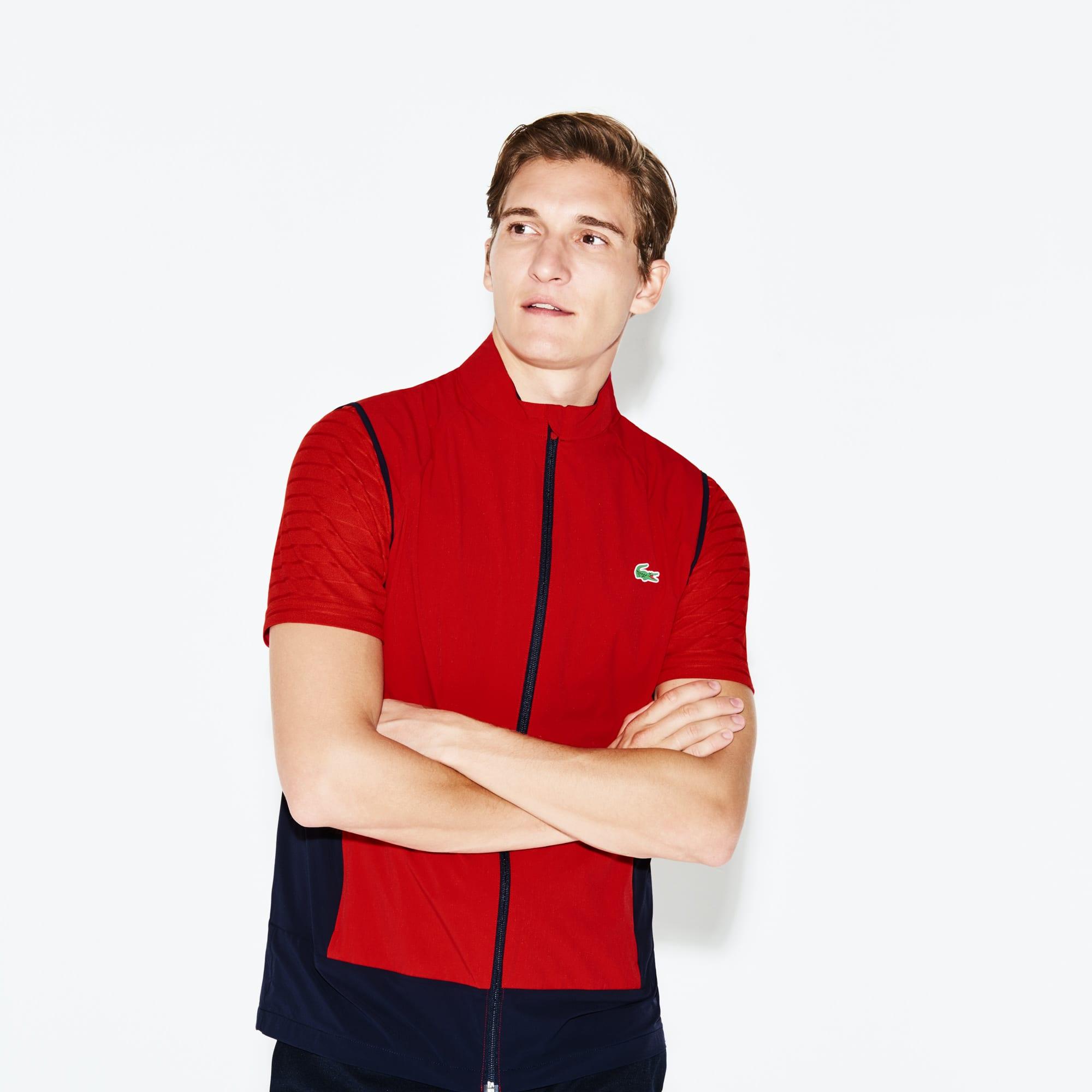 Men's Lacoste SPORT Colorblock Technical Taffeta Golf Quilted Vest