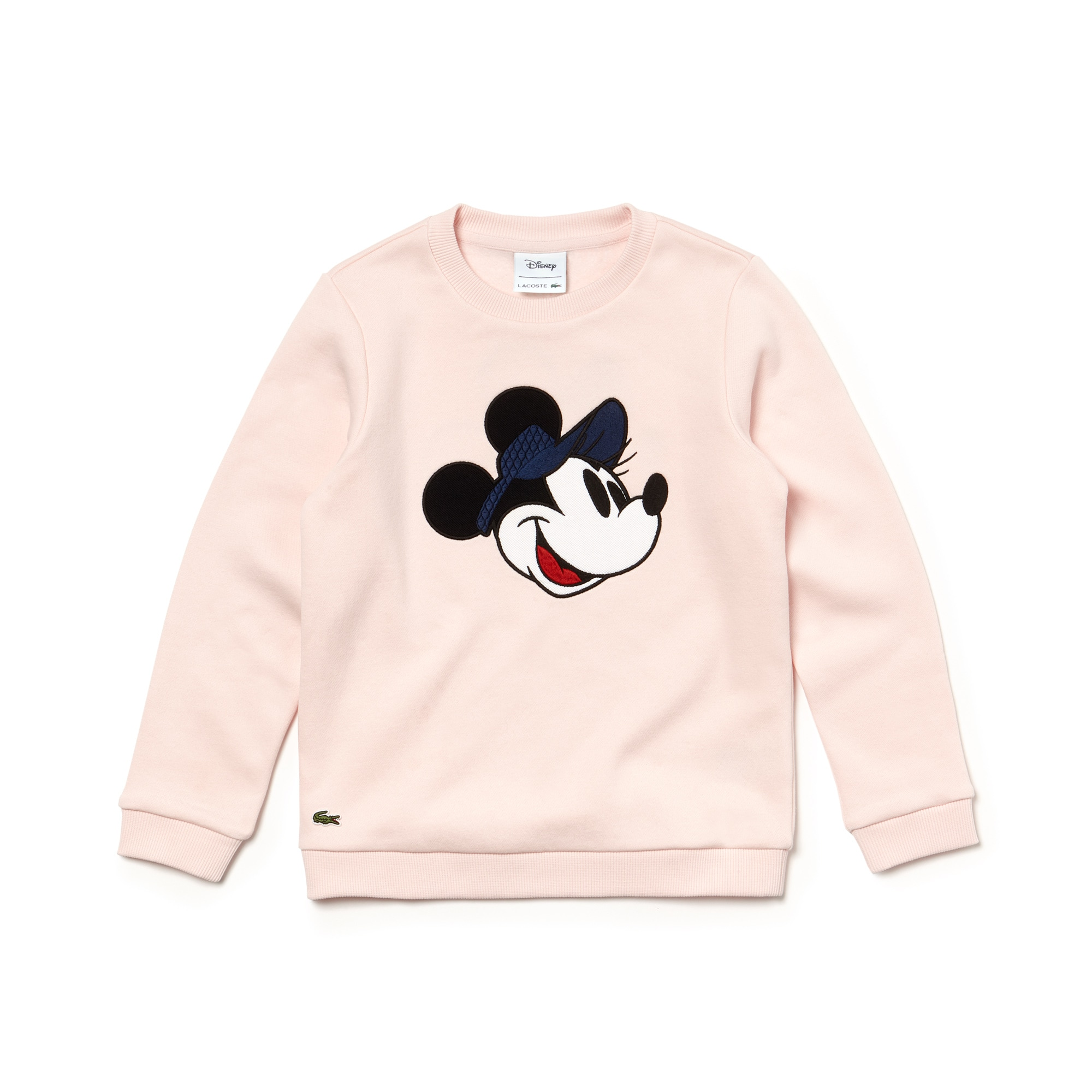 Unisex Crew Neck Disney Print Fleece Sweatshirt