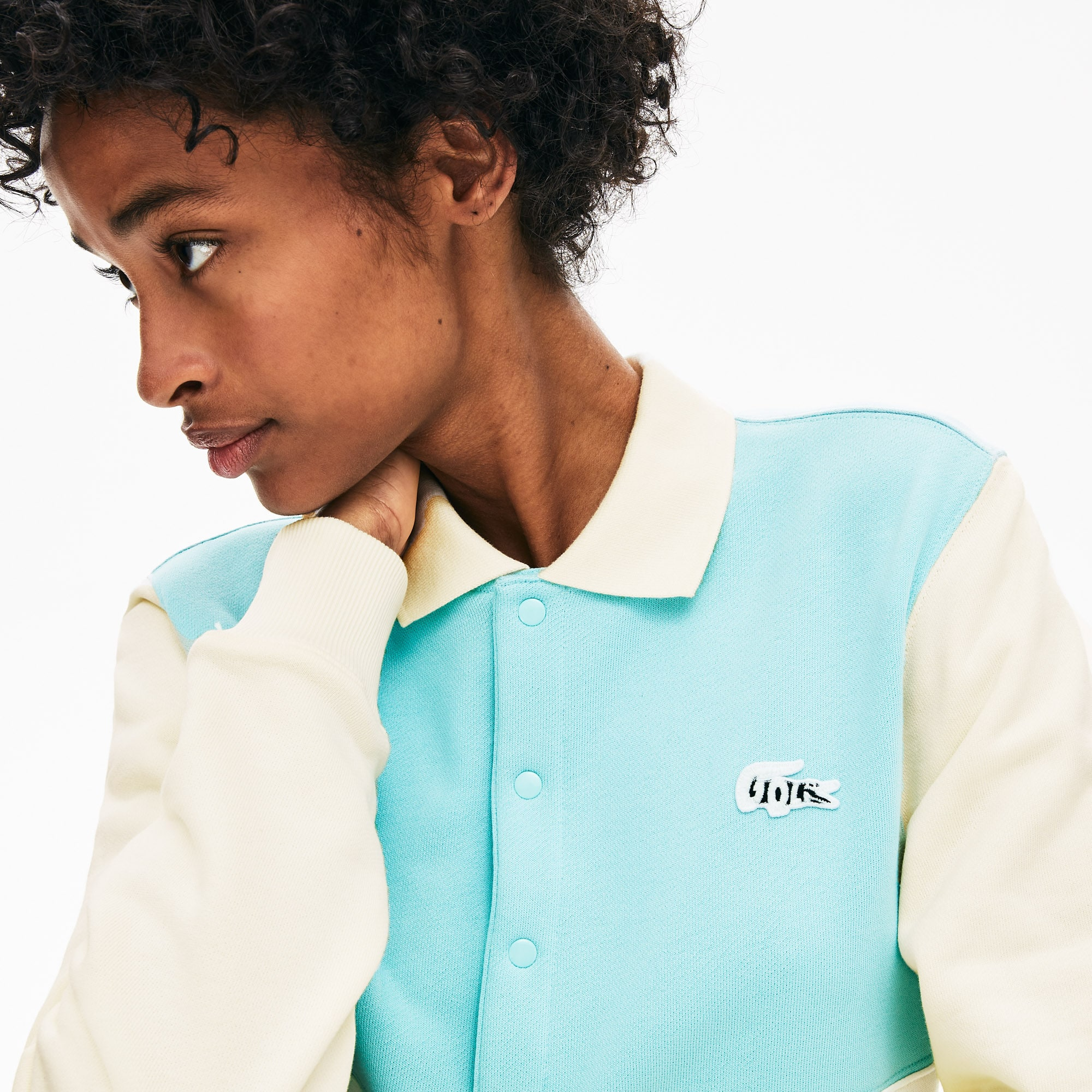 Lacoste x GOLF le FLEUR Two-Tone Fleece Sweatshirt