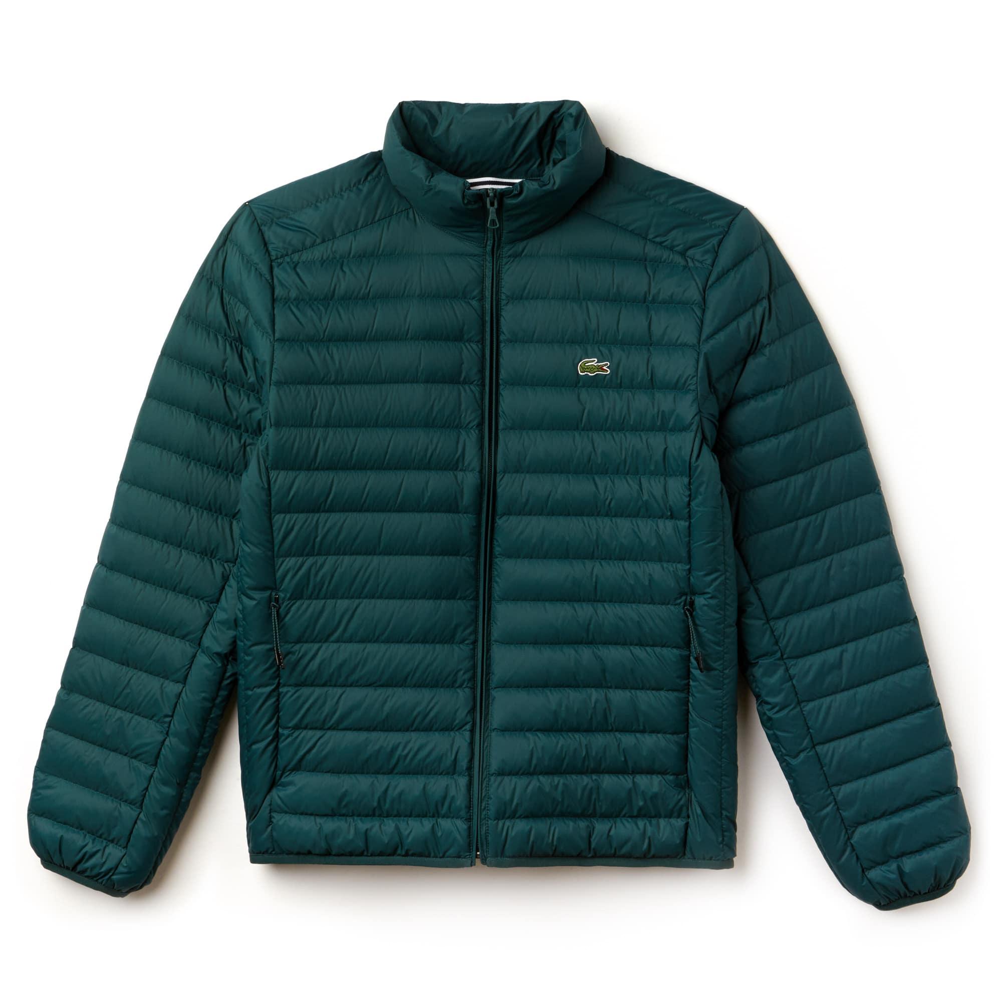 라코스테 초경량 퀼팅 자켓 아코티느 Lacoste Mens Short Contrast Lining Quilted Jacket, aconit, BH9389-51