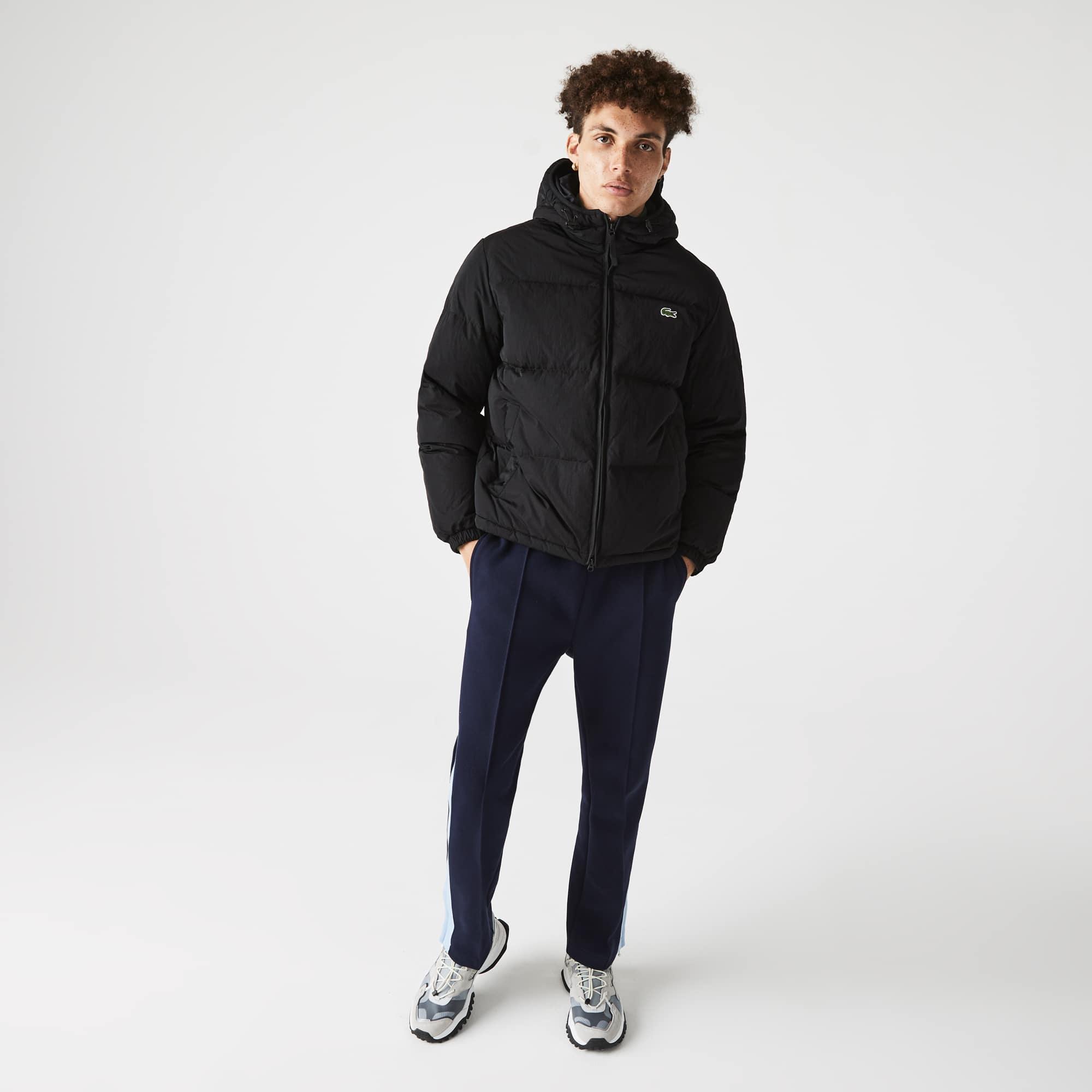 라코스테 맨 경량 발수 숏패딩 Lacoste Mens Short Lightweight Water-Resistant Puffer Coat