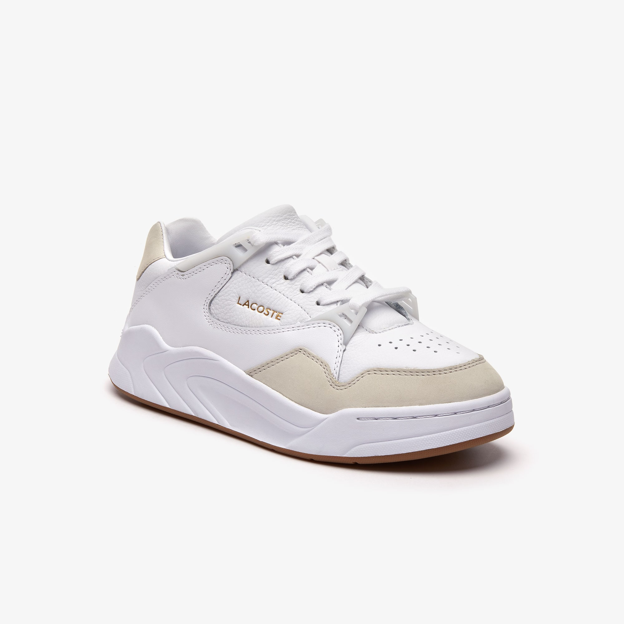 Lacoste Sneakers Women's Court Slam Leather Sneakers