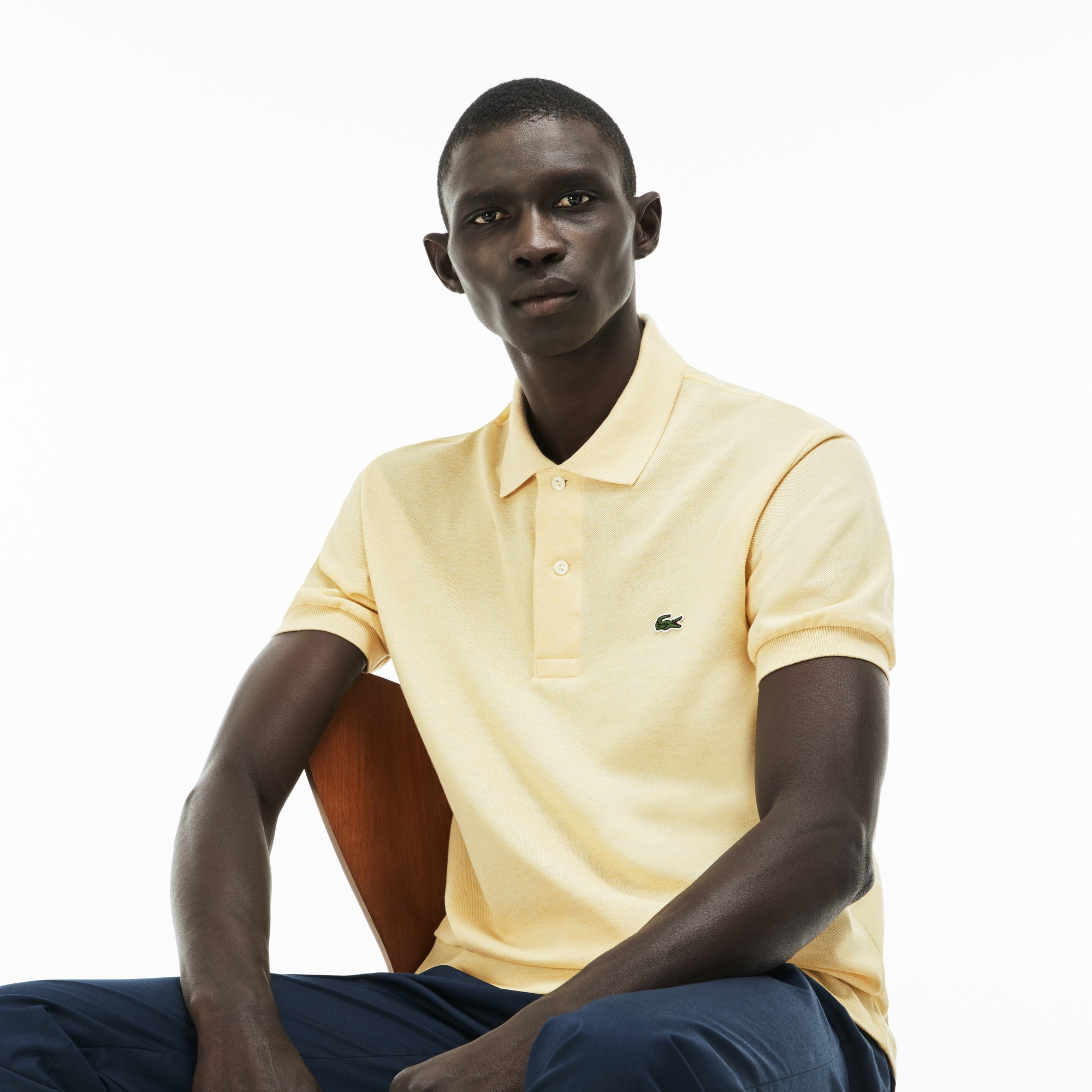 Men's Marl Knit L.12.12 Polo