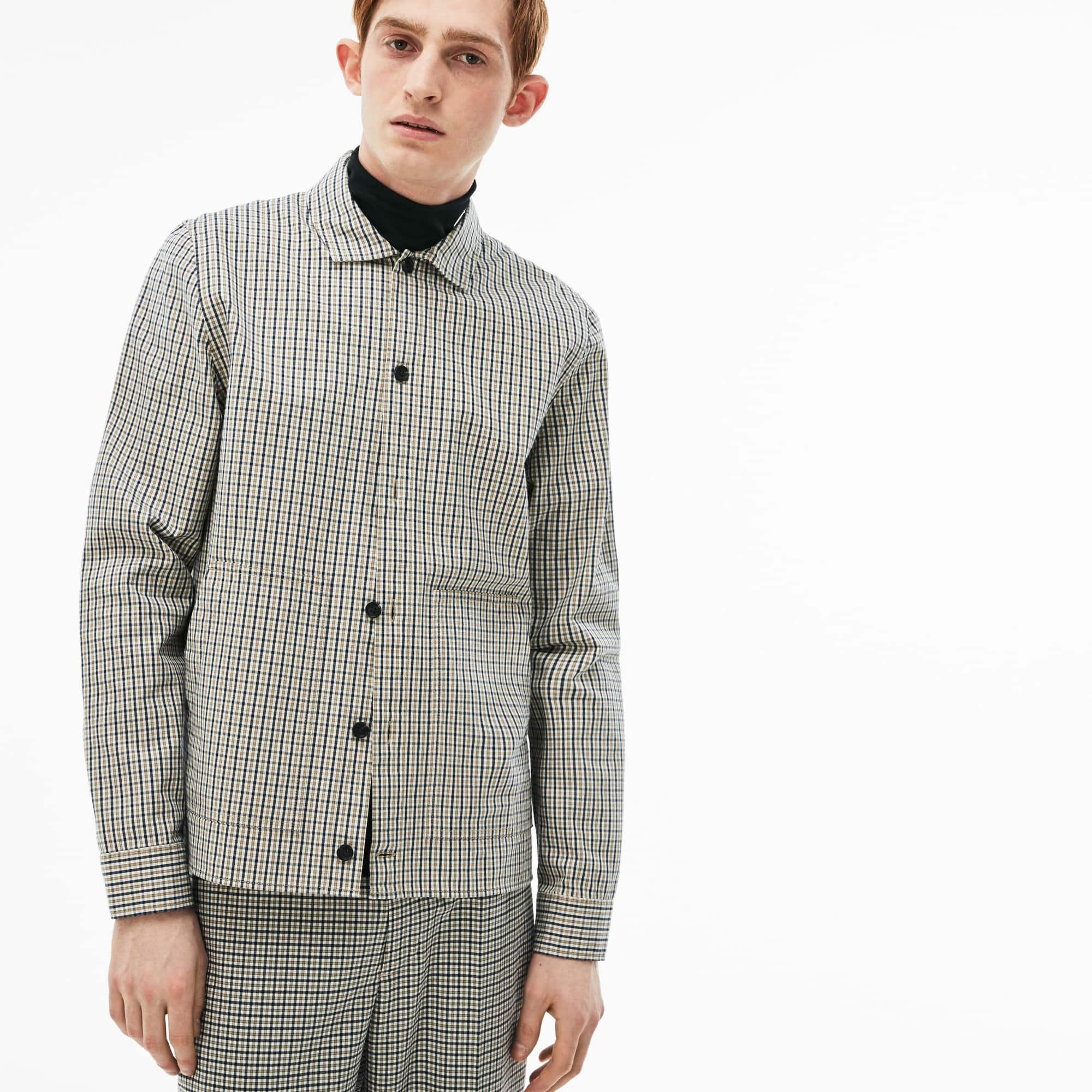 Men's LIVE Slim Fit Check Flannel Shirt