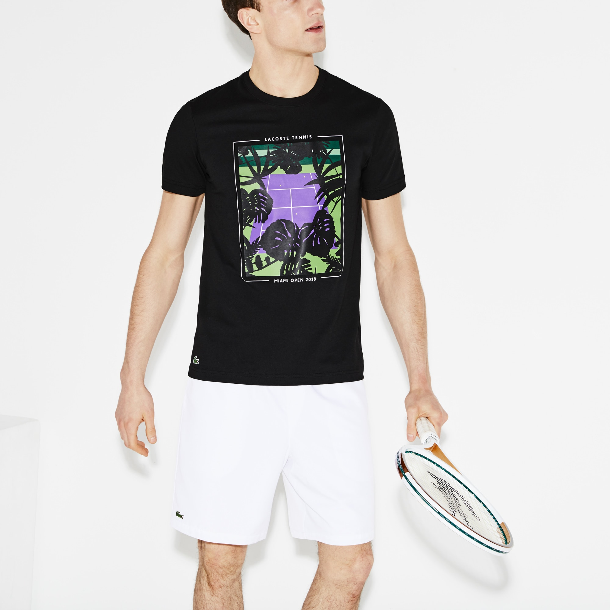 Men's SPORT Miami Open Print Tech Jersey Tennis T-shirt
