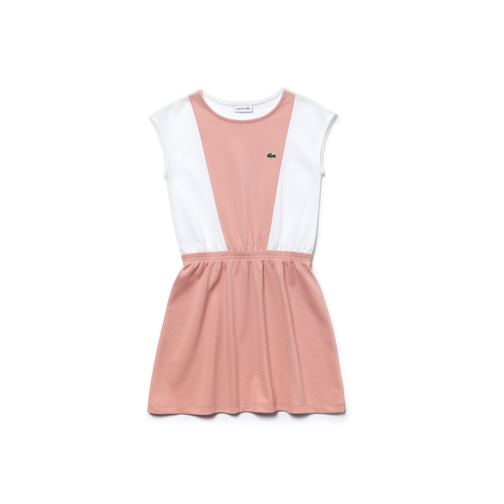 Girls' Fitted Waist Petit Piqué Dress