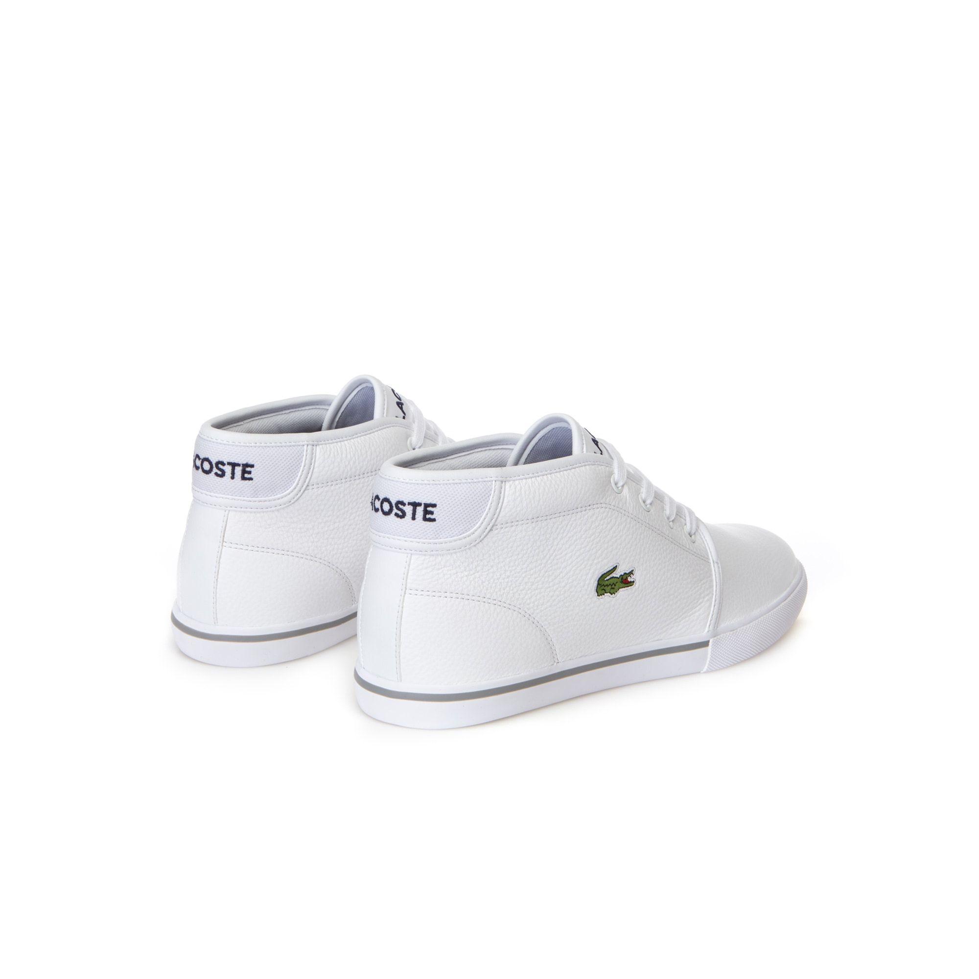 Ampthill Leather Mid Sneakers | LACOSTE