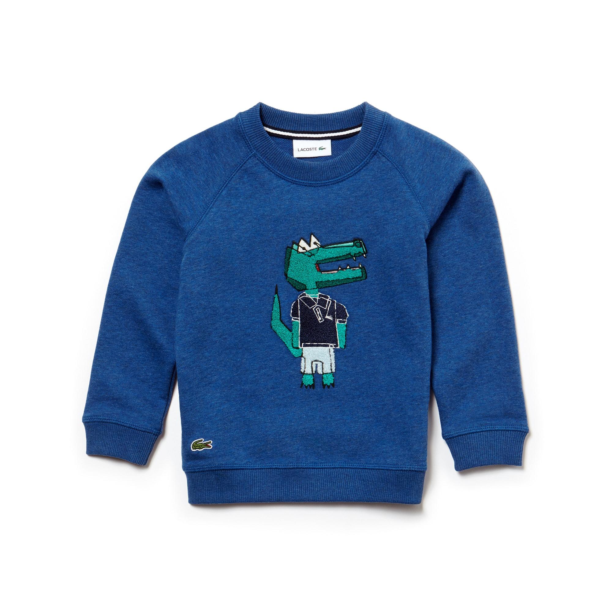Boys' Crocodile Indigo Sweatshirt