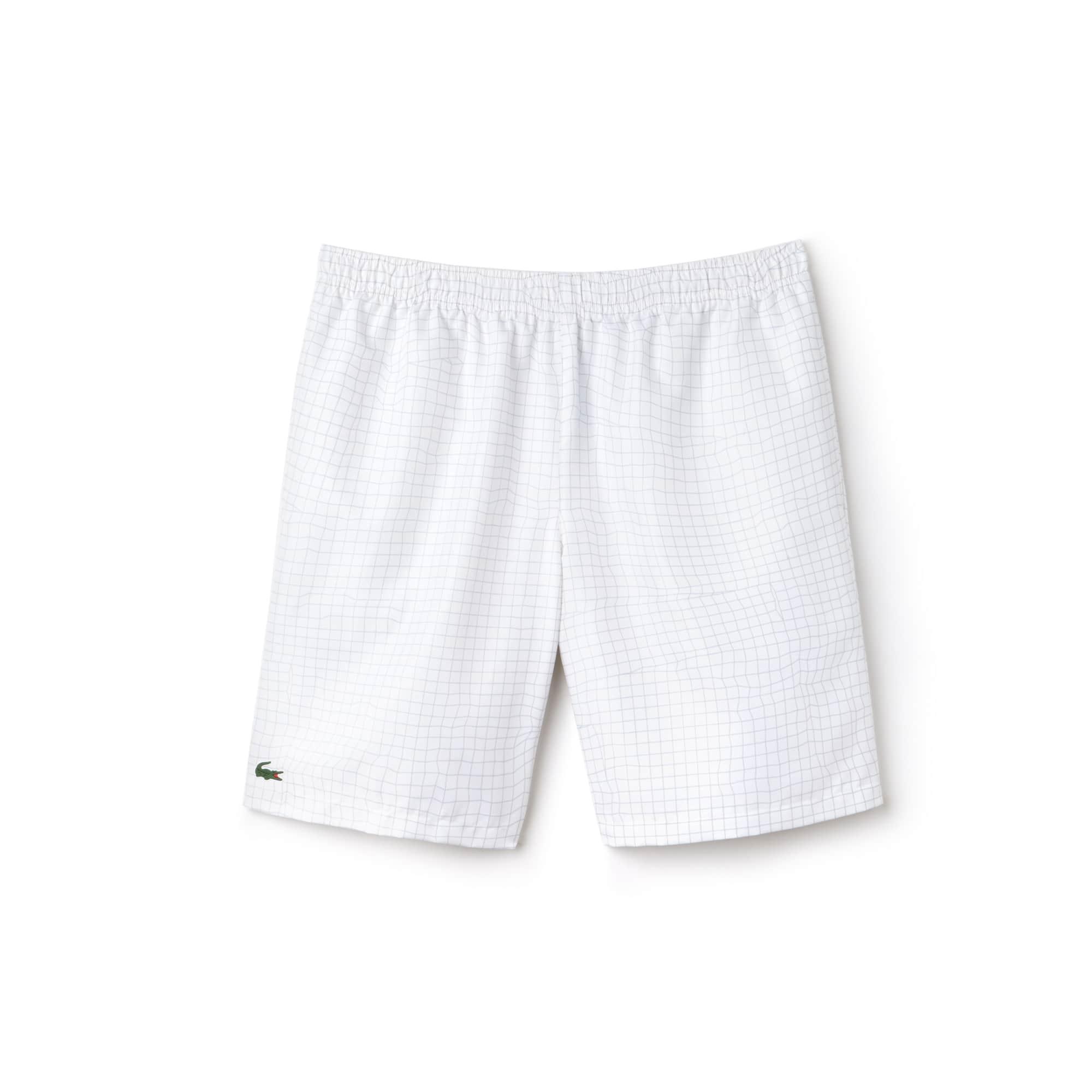 Men's SPORT Net Print Taffeta Tennis Shorts