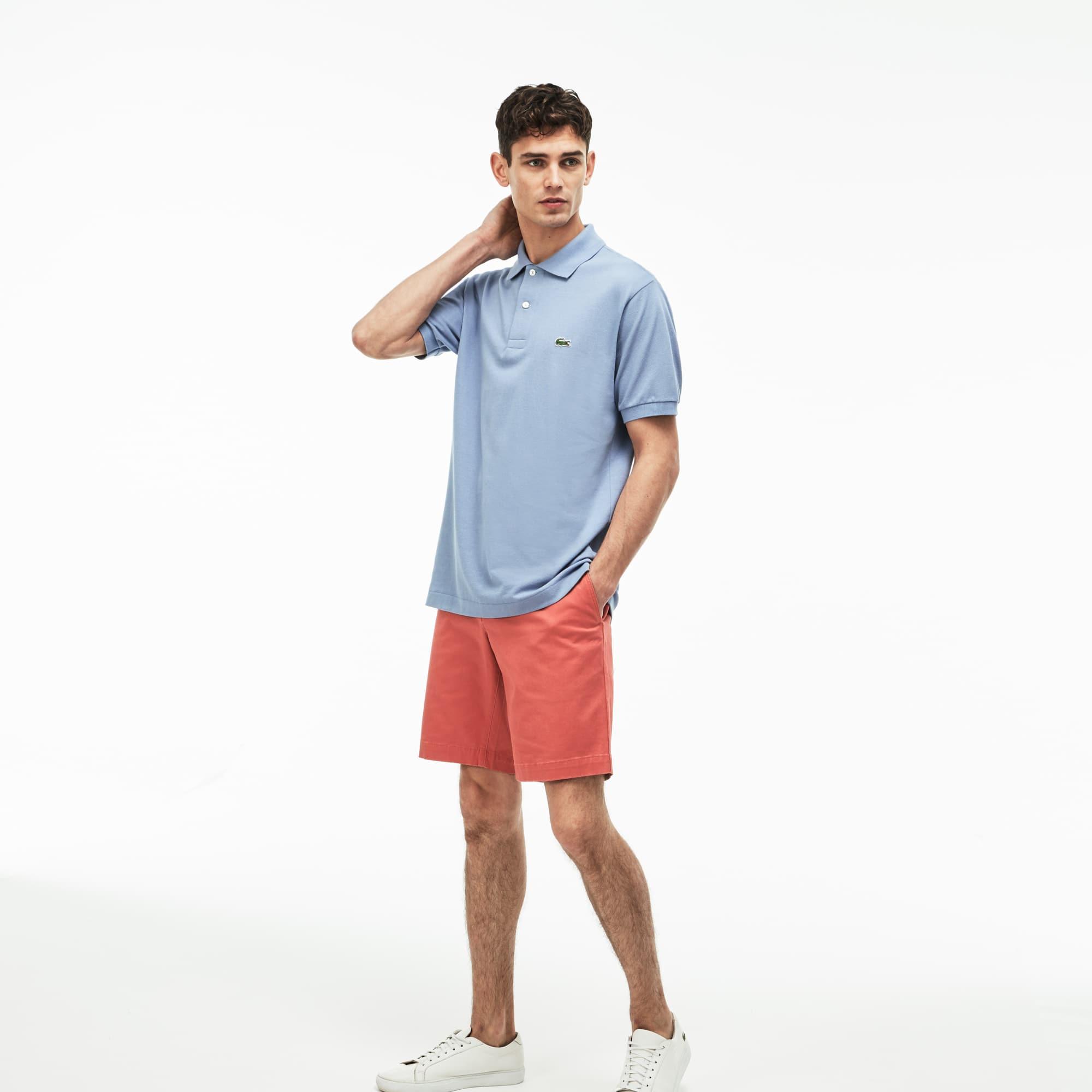 Men's Slim Fit Stretch Bermuda Shorts