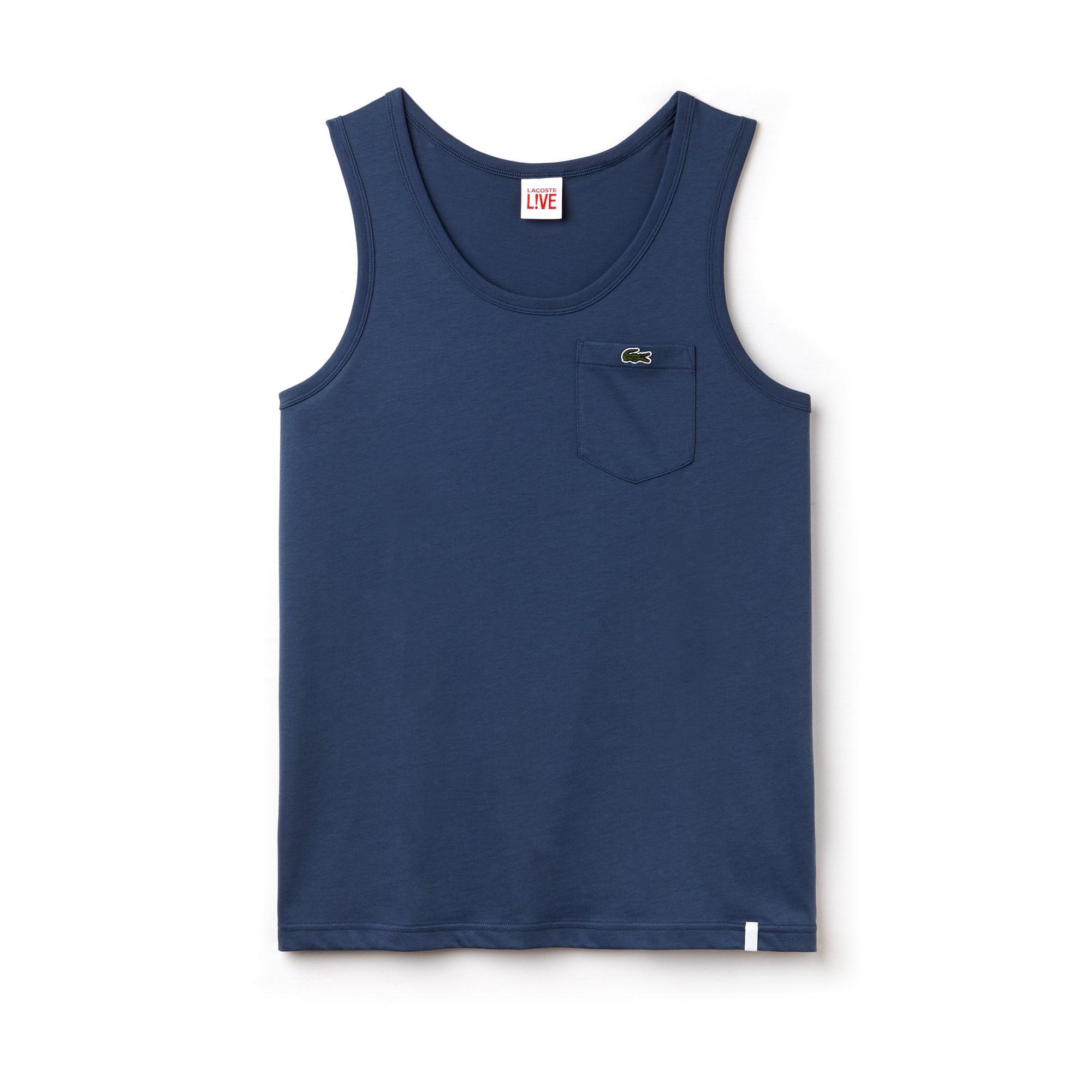 Men's LIVE Pocket Cotton Jersey Tank Top