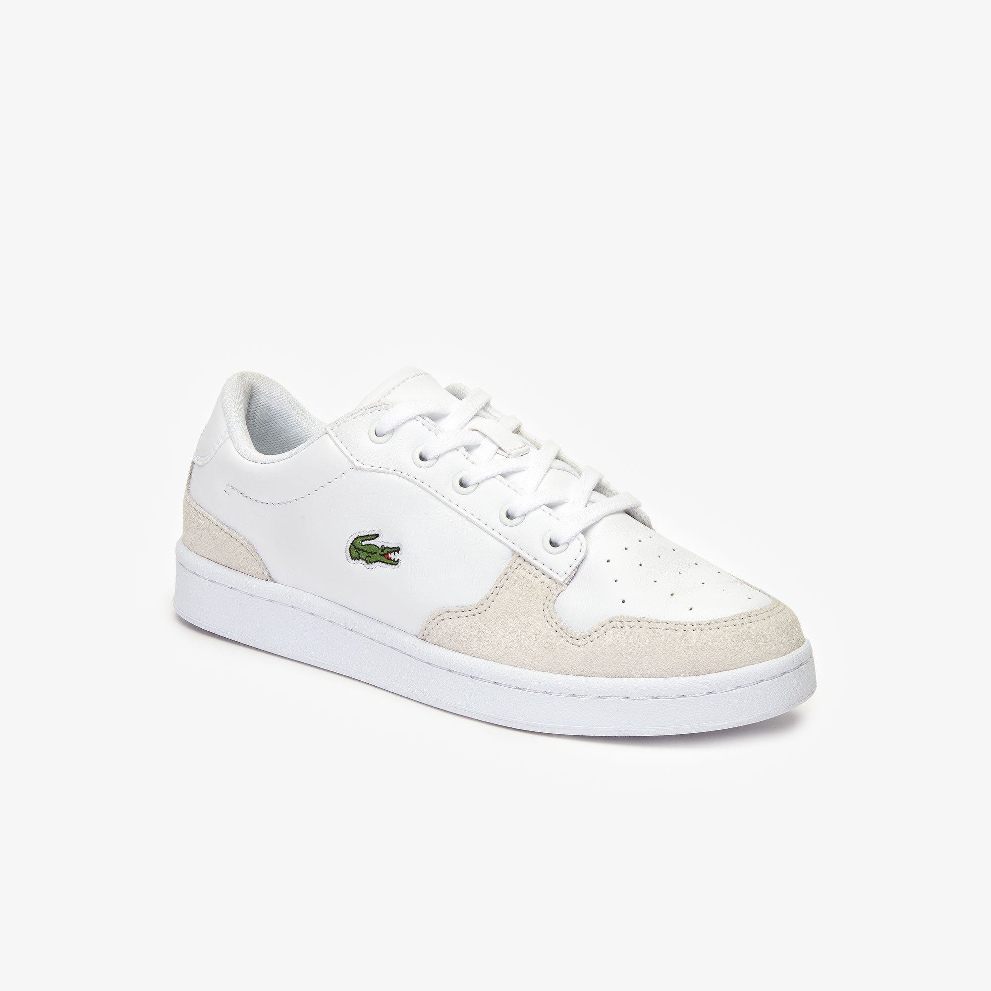 Lacoste Boots Men's Masters Cup Leather and Suede Sneakers
