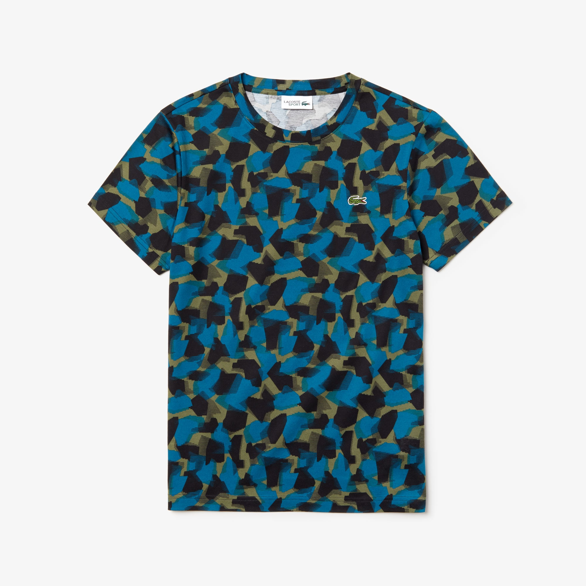 Men's SPORT Camo Print Cotton Jersey T-Shirt