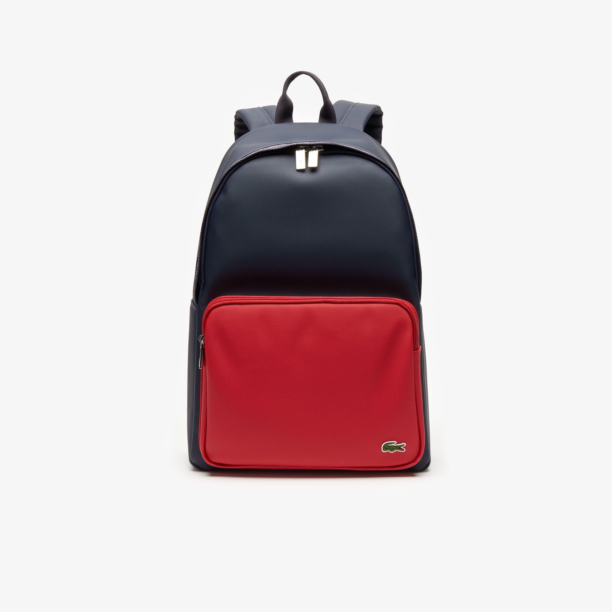 라코스테 두 컬러 백팩 Lacoste Mens Bicolor Backpack,PEACOAT