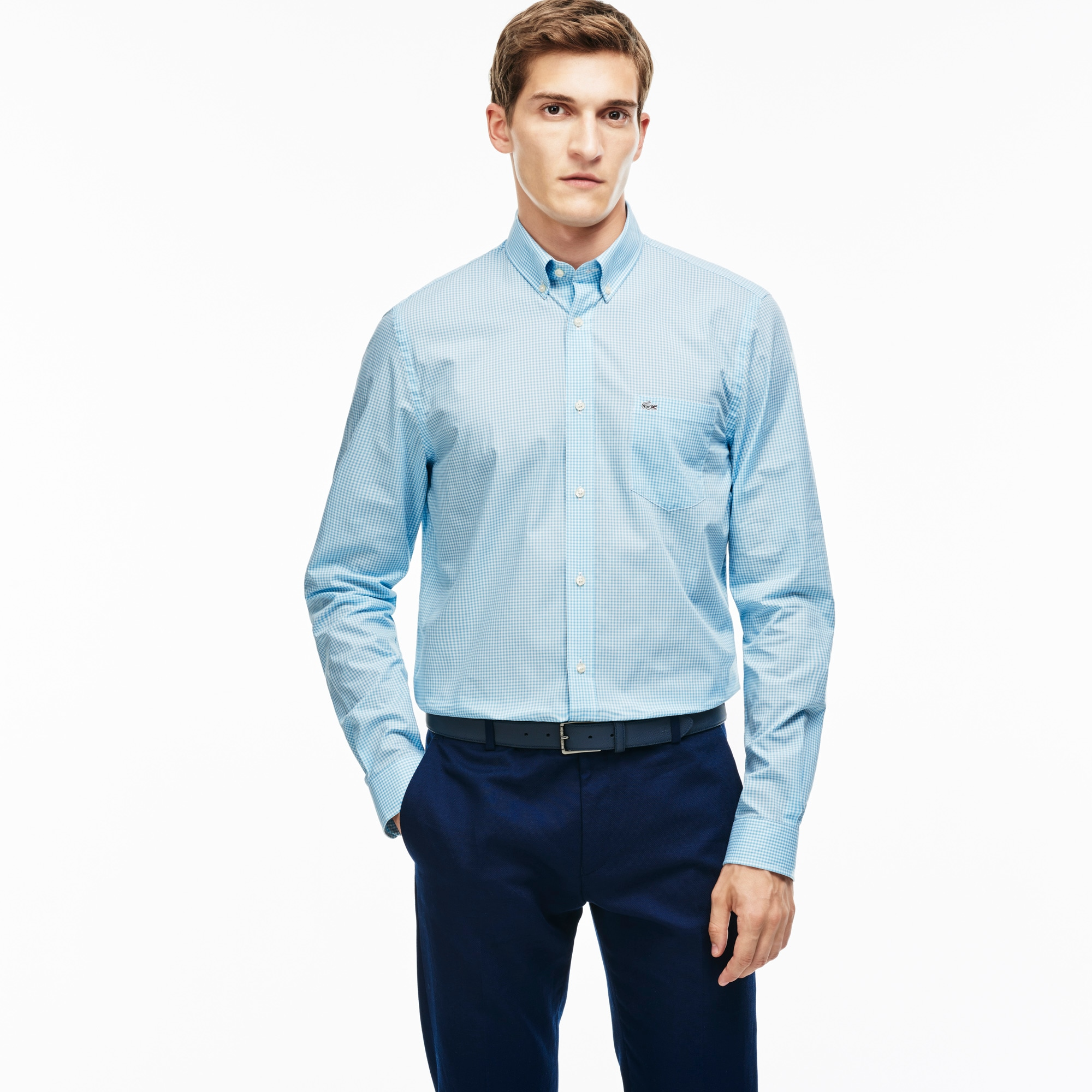 Men's Regular Fit Gingham Shirt