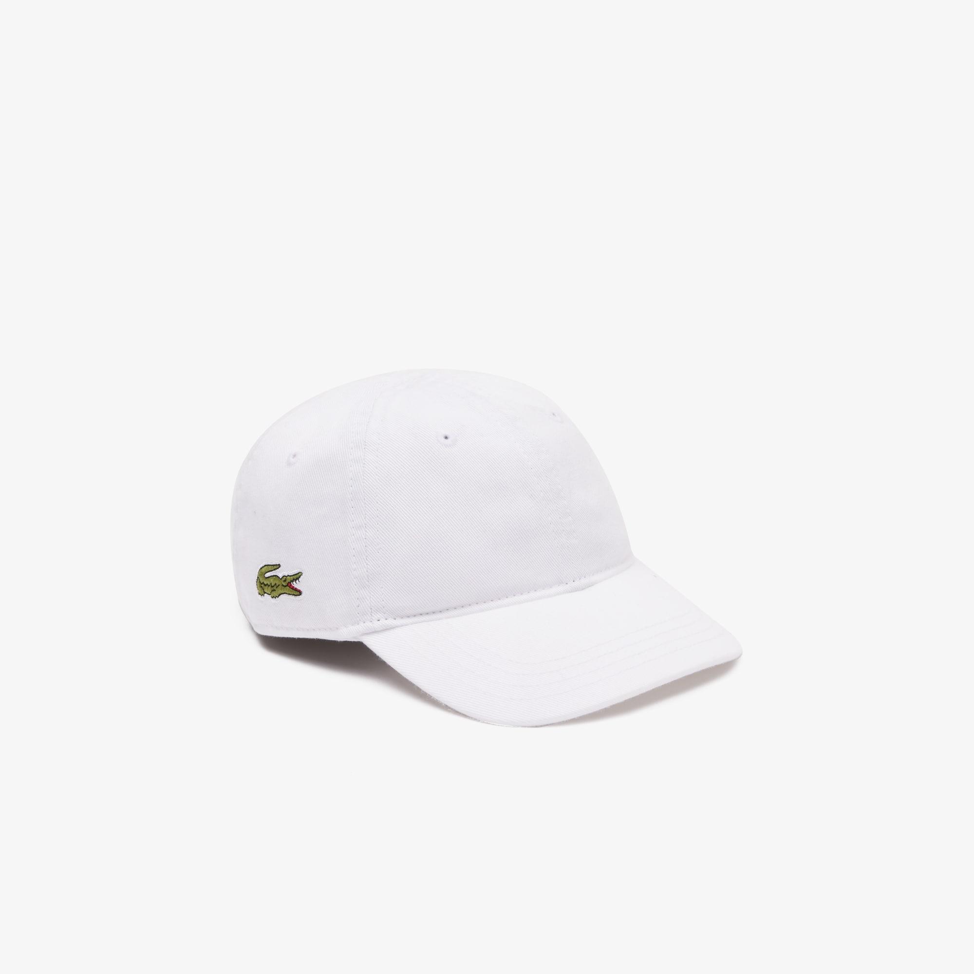 Lacoste Lingerie Boys' Solid Gabardine Cap