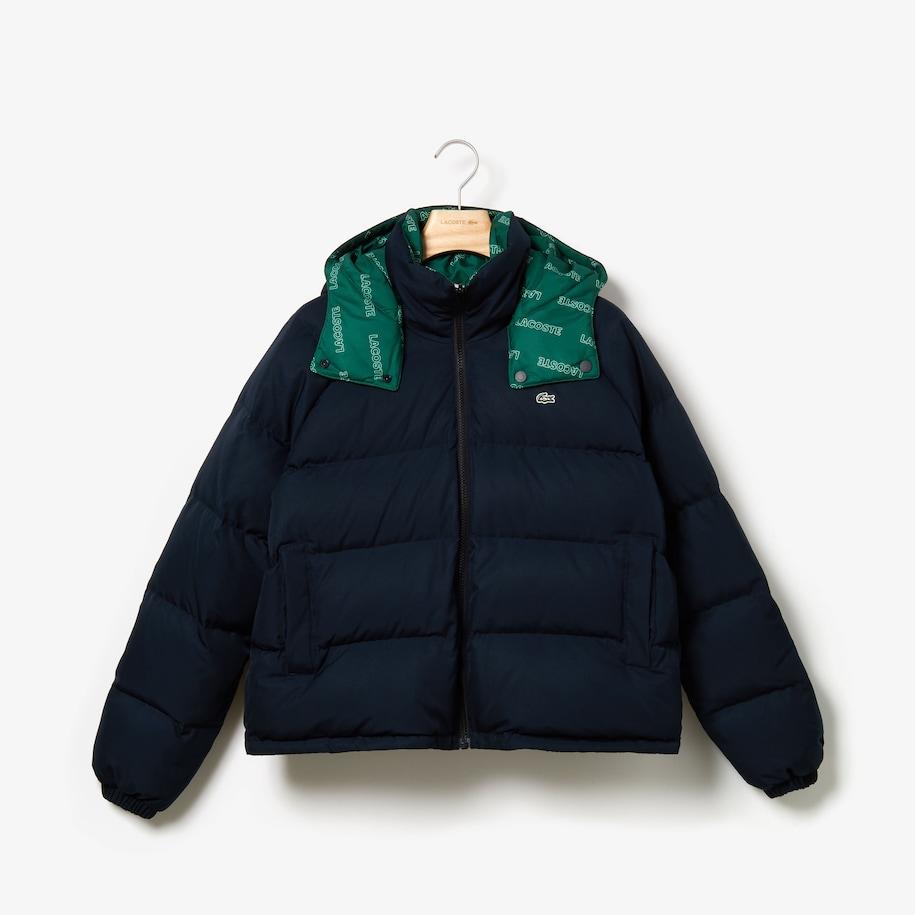 라코스테 Womens LIVE Reversible Cropped Quilted Jacket BF8148-51
