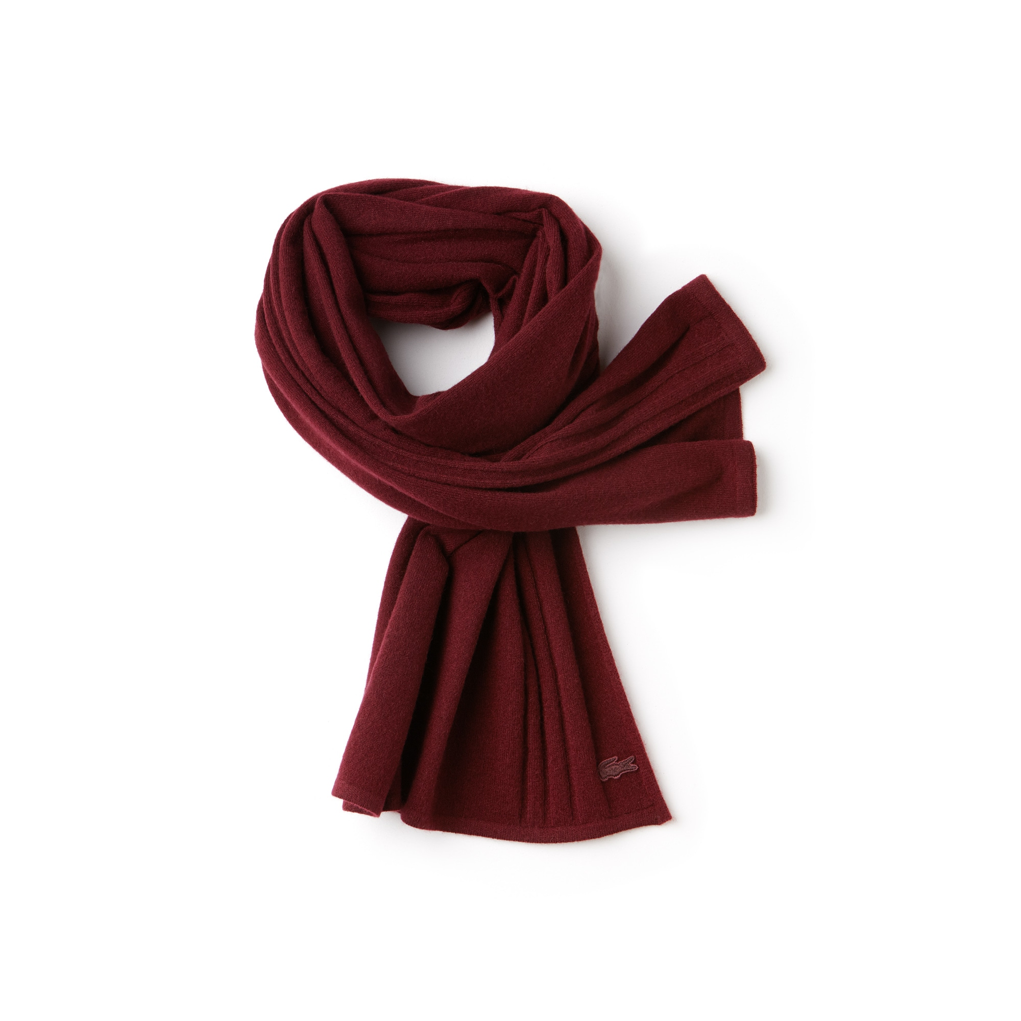 Women's Cashmere Jersey Scarf With Contrast Details