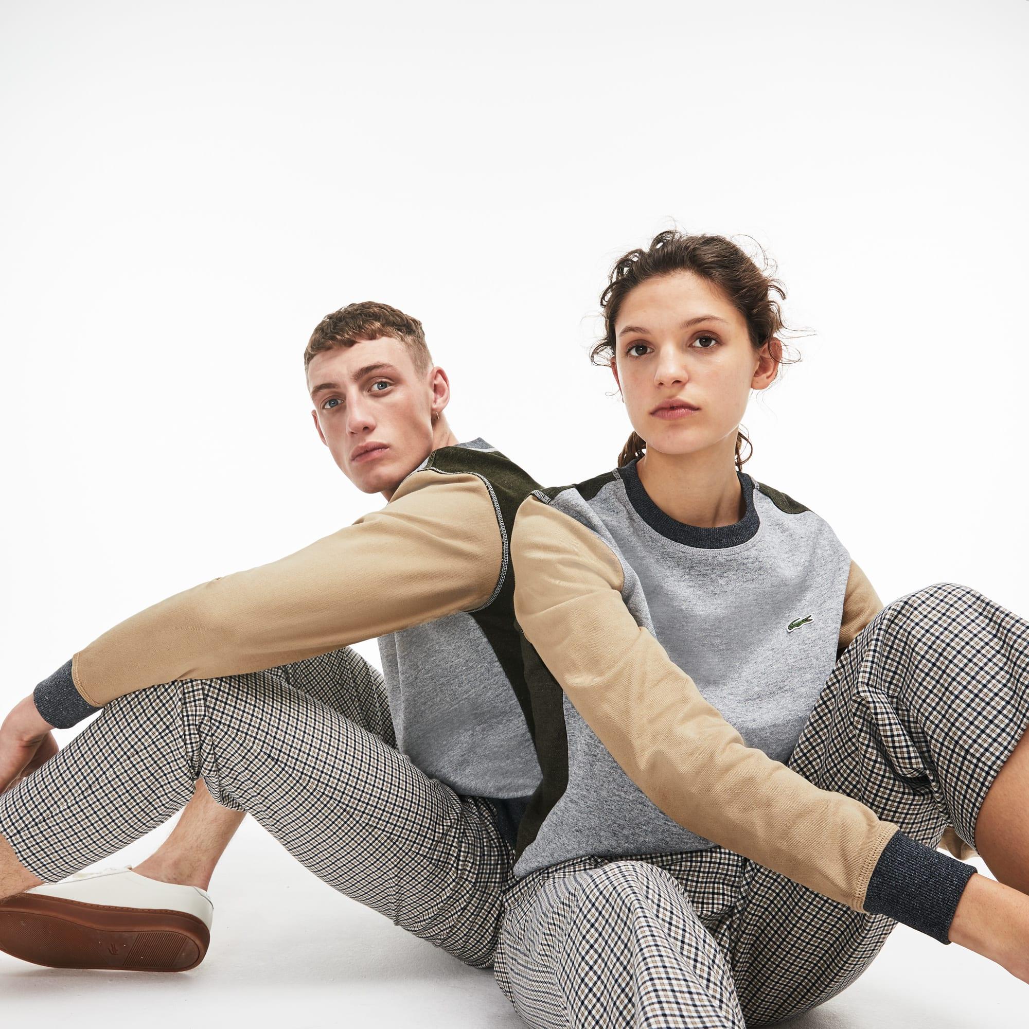 Unisex LIVE Crew Neck Cotton Fleece Sweatshirt