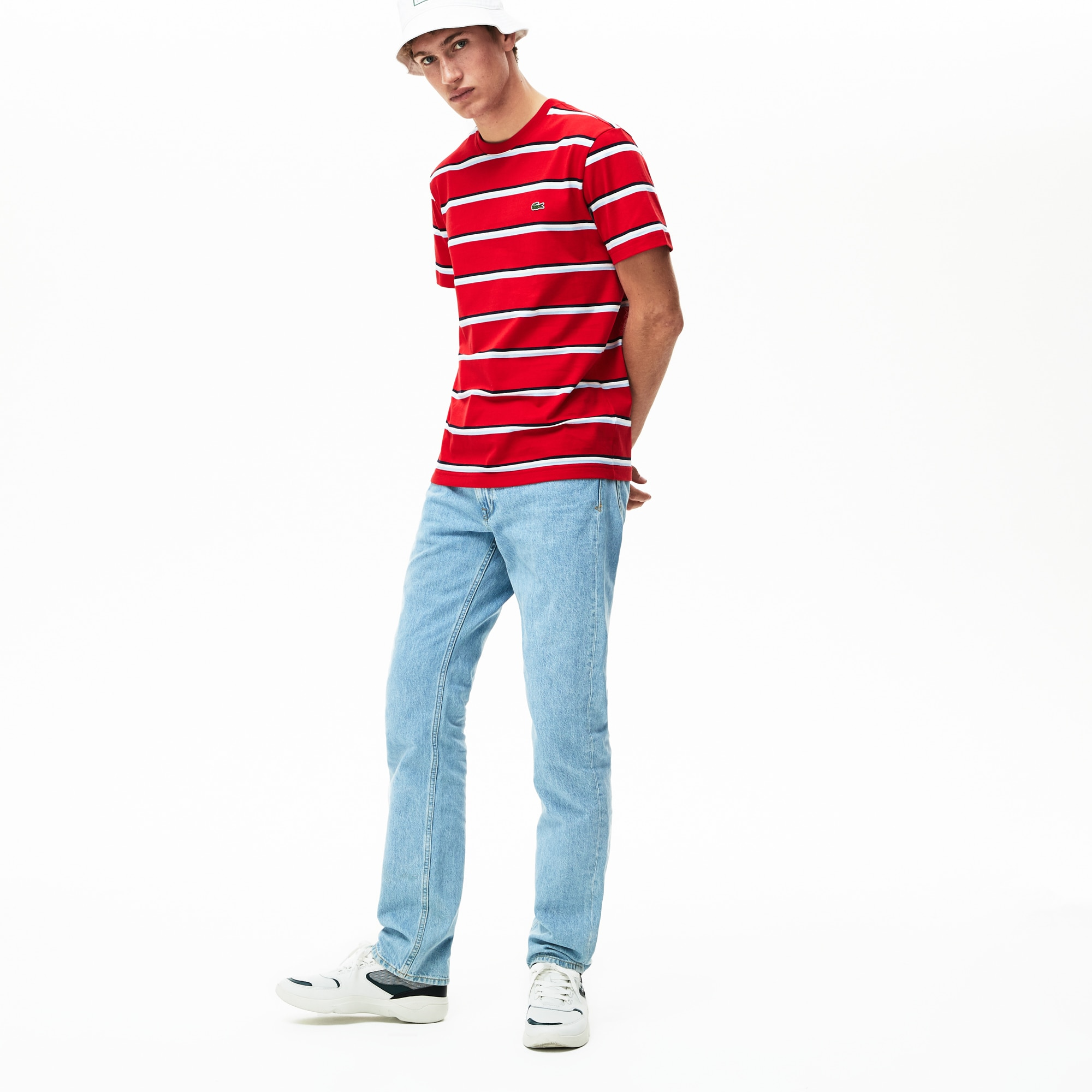7ea0b27659fc + 2 colors. 40% off. Men's Crew Neck Cotton And Linen T-shirt