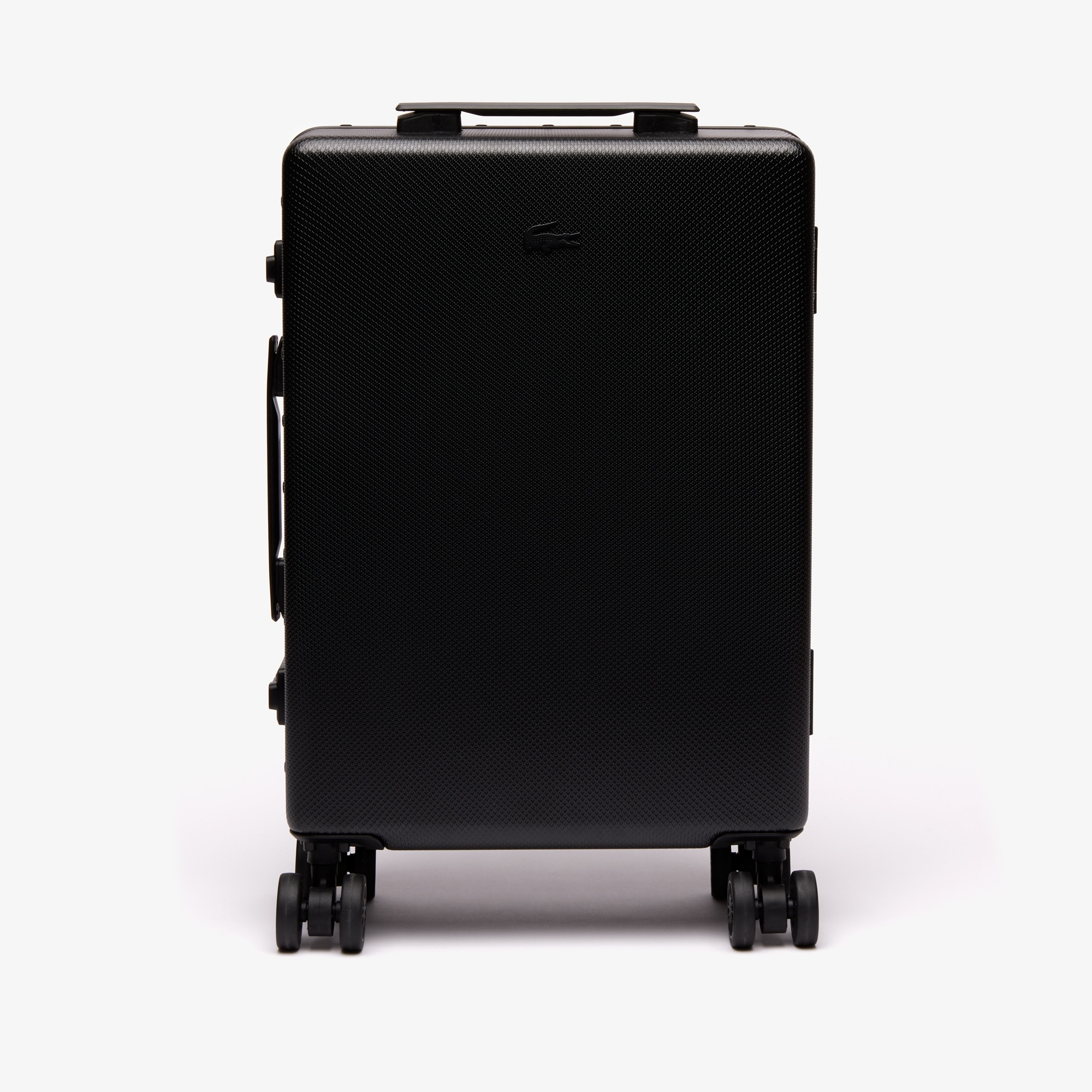 라코스테 Lacoste Mens Chantaco Suitcase,BLACK
