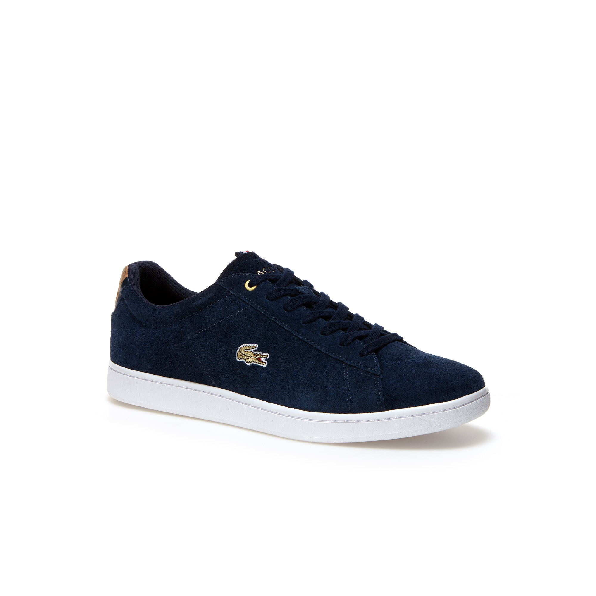 Lacoste MEN'S CARNABY EVO SUEDE TRAINERS NPQ9FNf